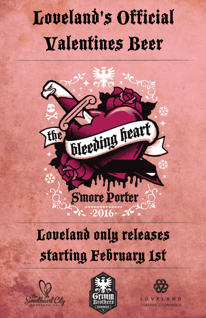 2016 Bleeding Heart Poster
